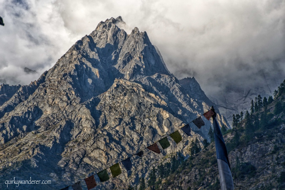 mountains in Kinnaur