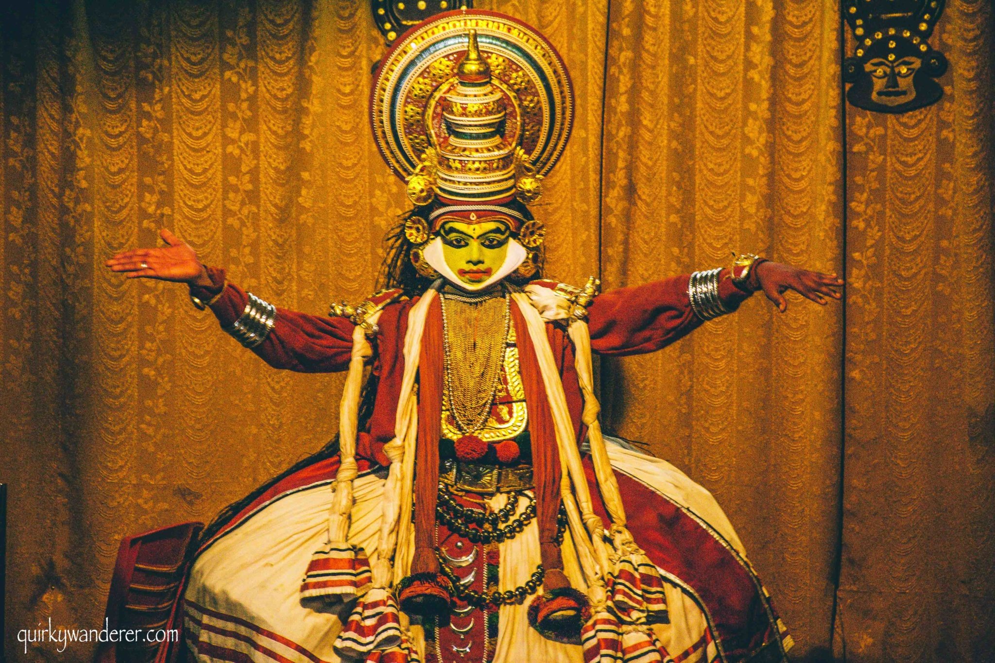 kathakali dance performance