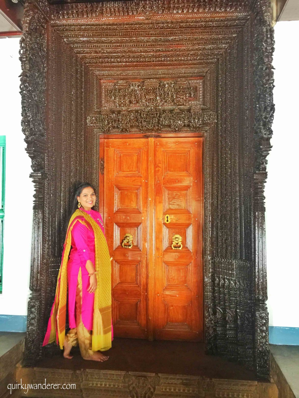 Burma teak doors
