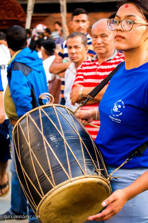Street festival Kathmandu
