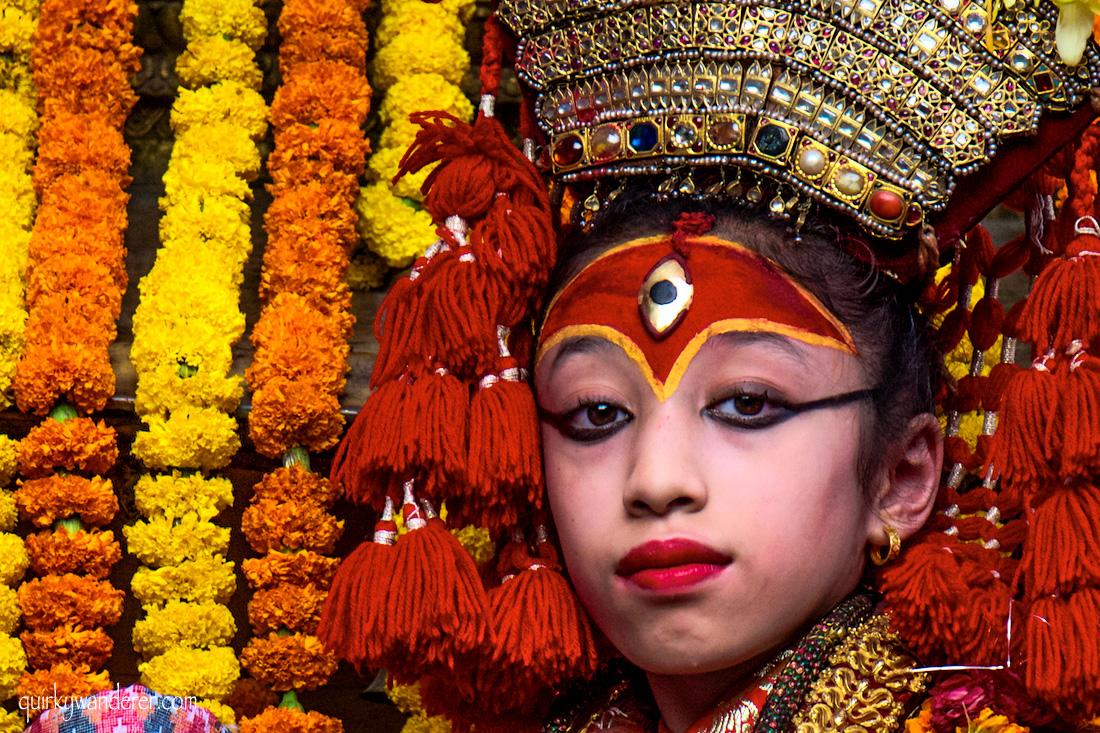 Kumari tradition in Nepal