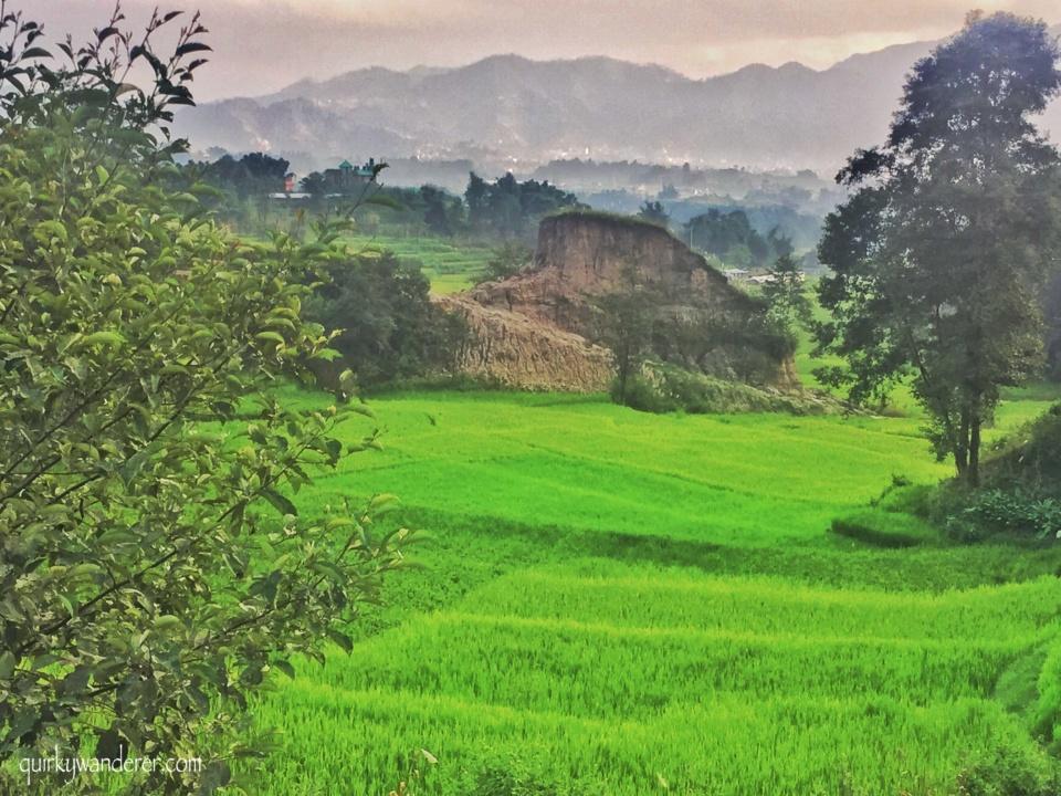 Nagarkot near Kathmandu