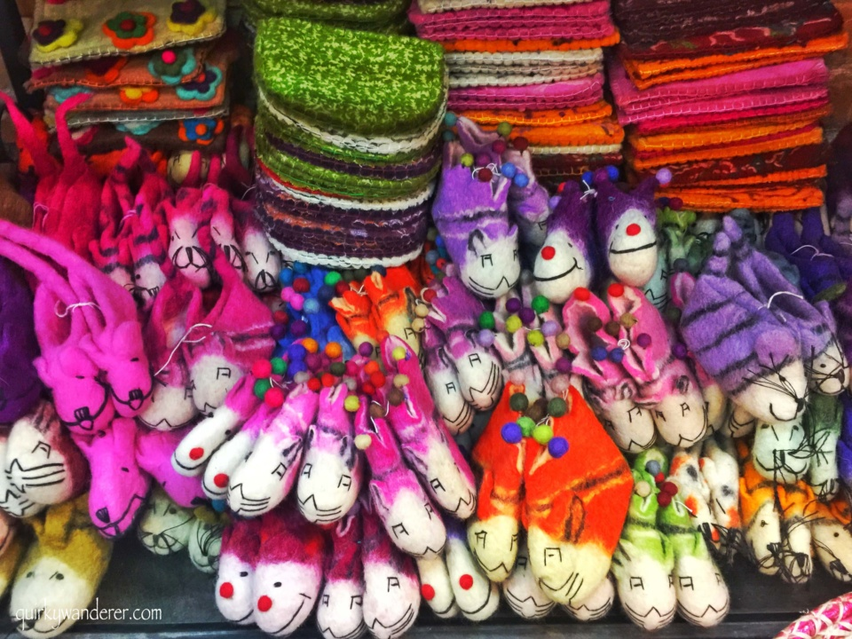 kids shopping in Nepal