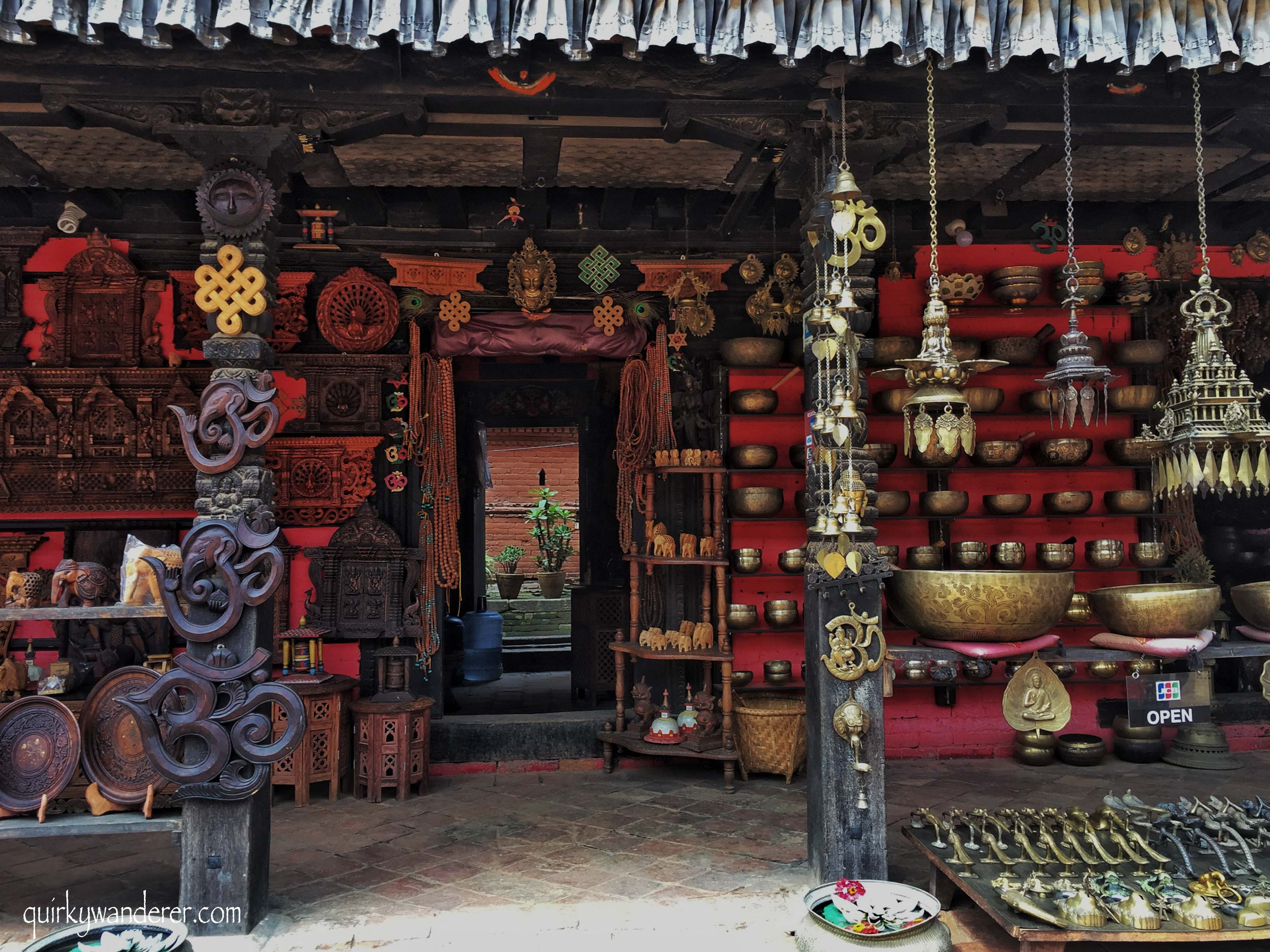 What to buy in Bhaktapur Nepal