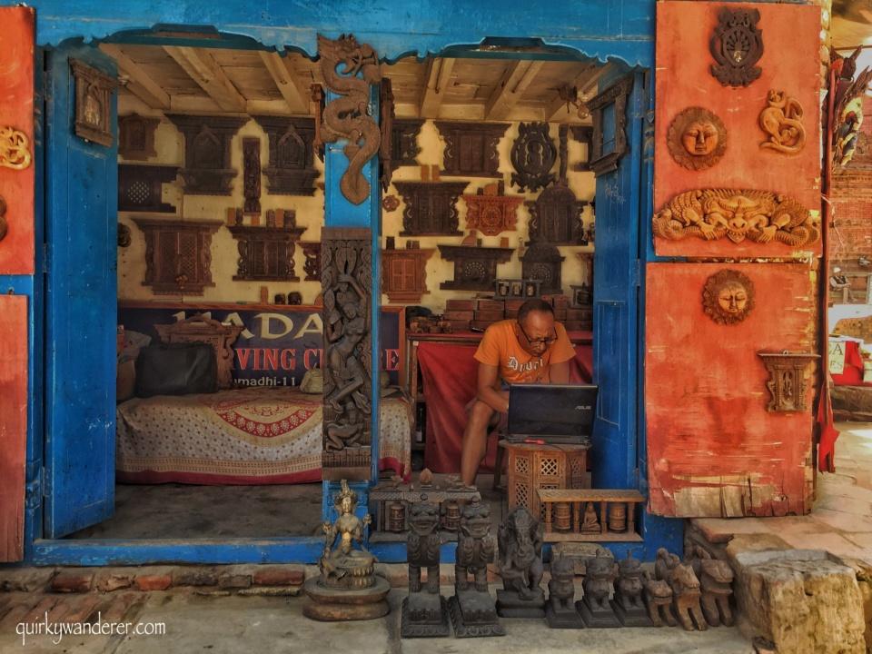 bhaktapur handicrafts
