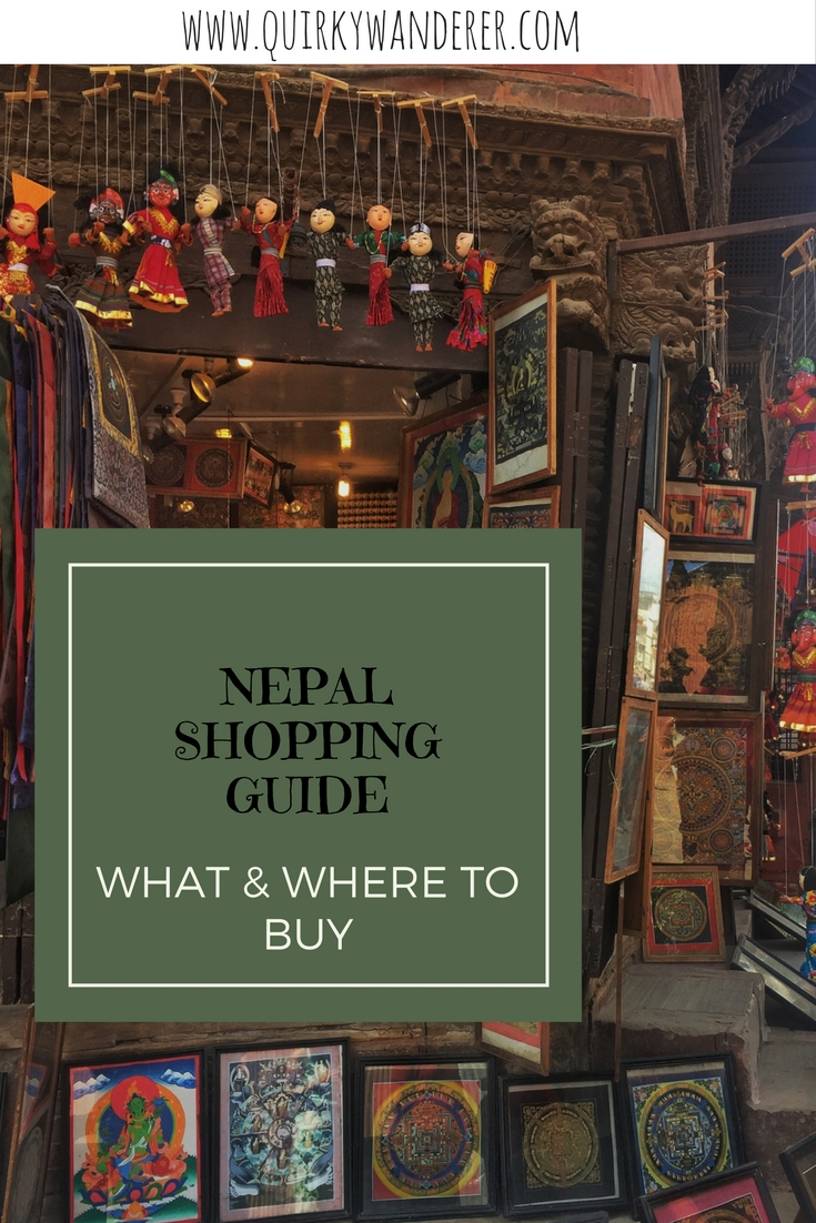 nepal shopping guide