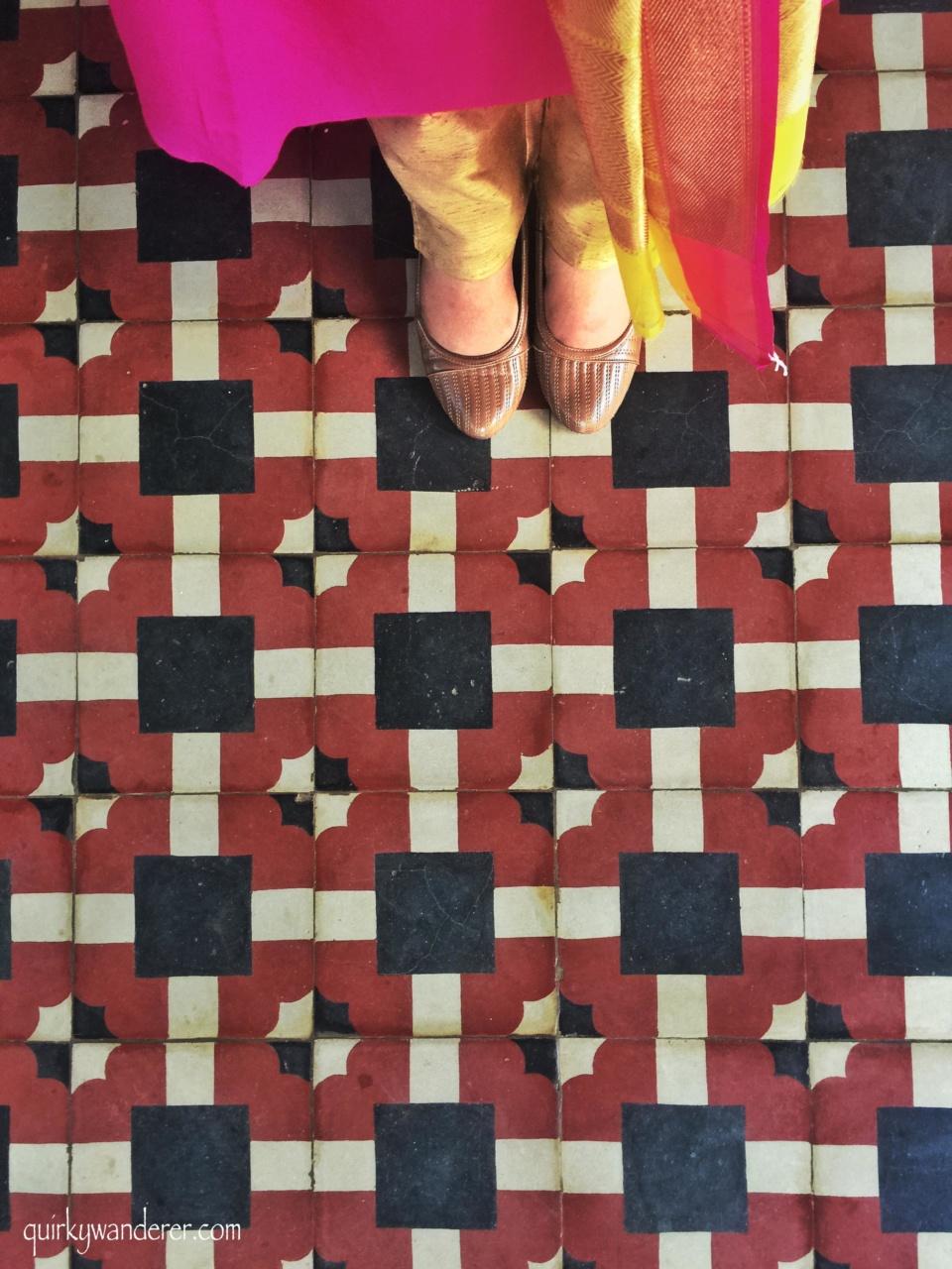 Athangudi floor
