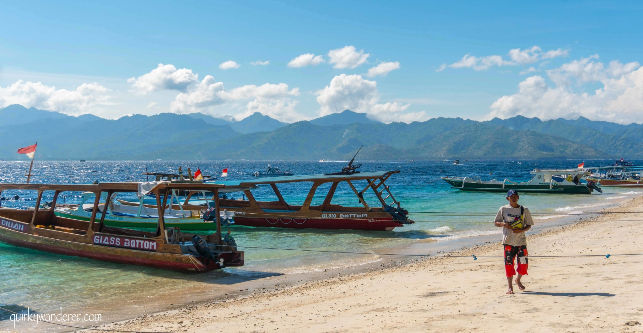 Beaches of Gili Trawangan