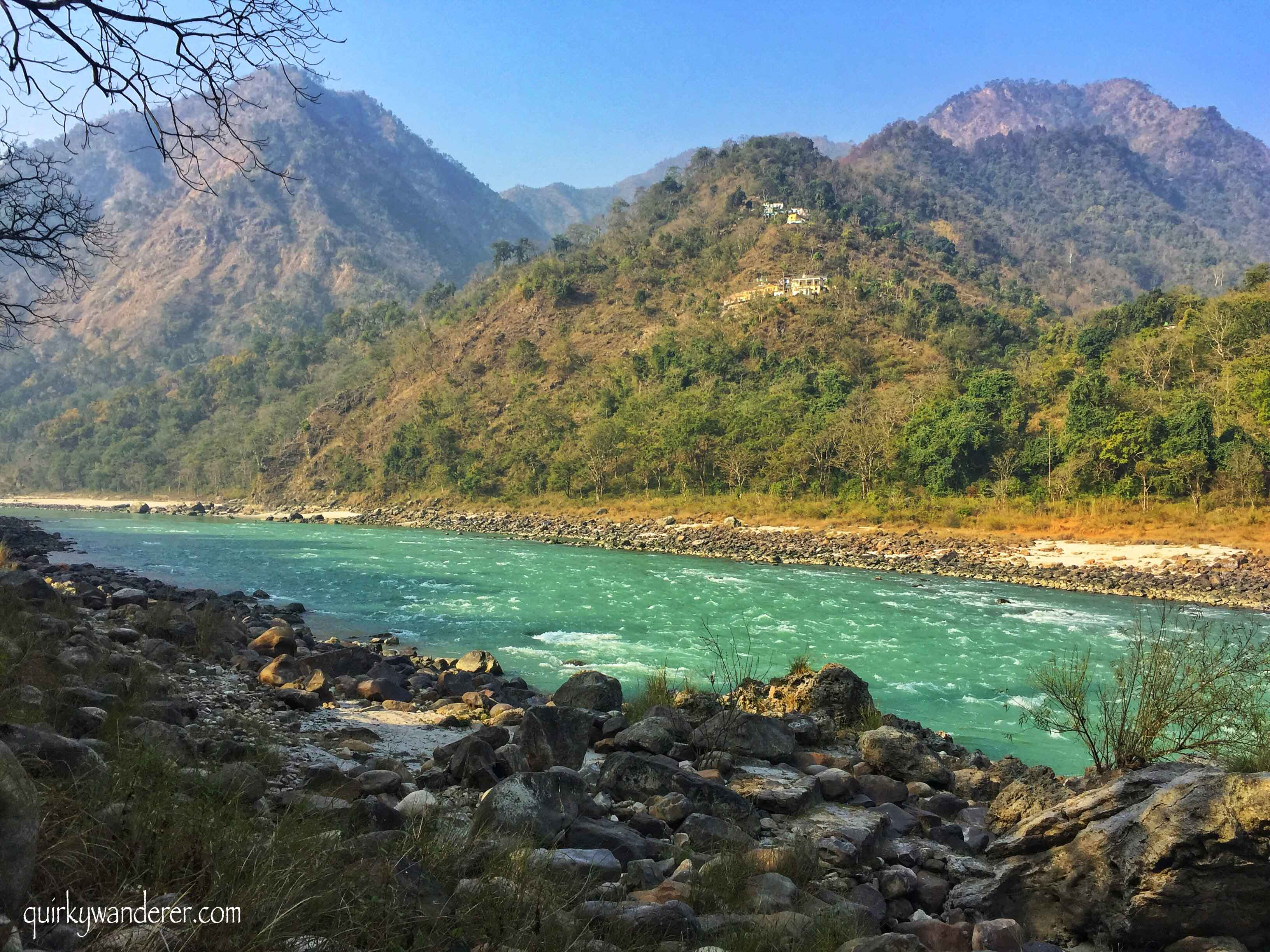 Where can you find the Ganga in its purest forms? Come along with me as I spend time with the pristine Ganga conversing with it at the Glasshouse on the Ganges a Neemrana property off Rishikesh.
