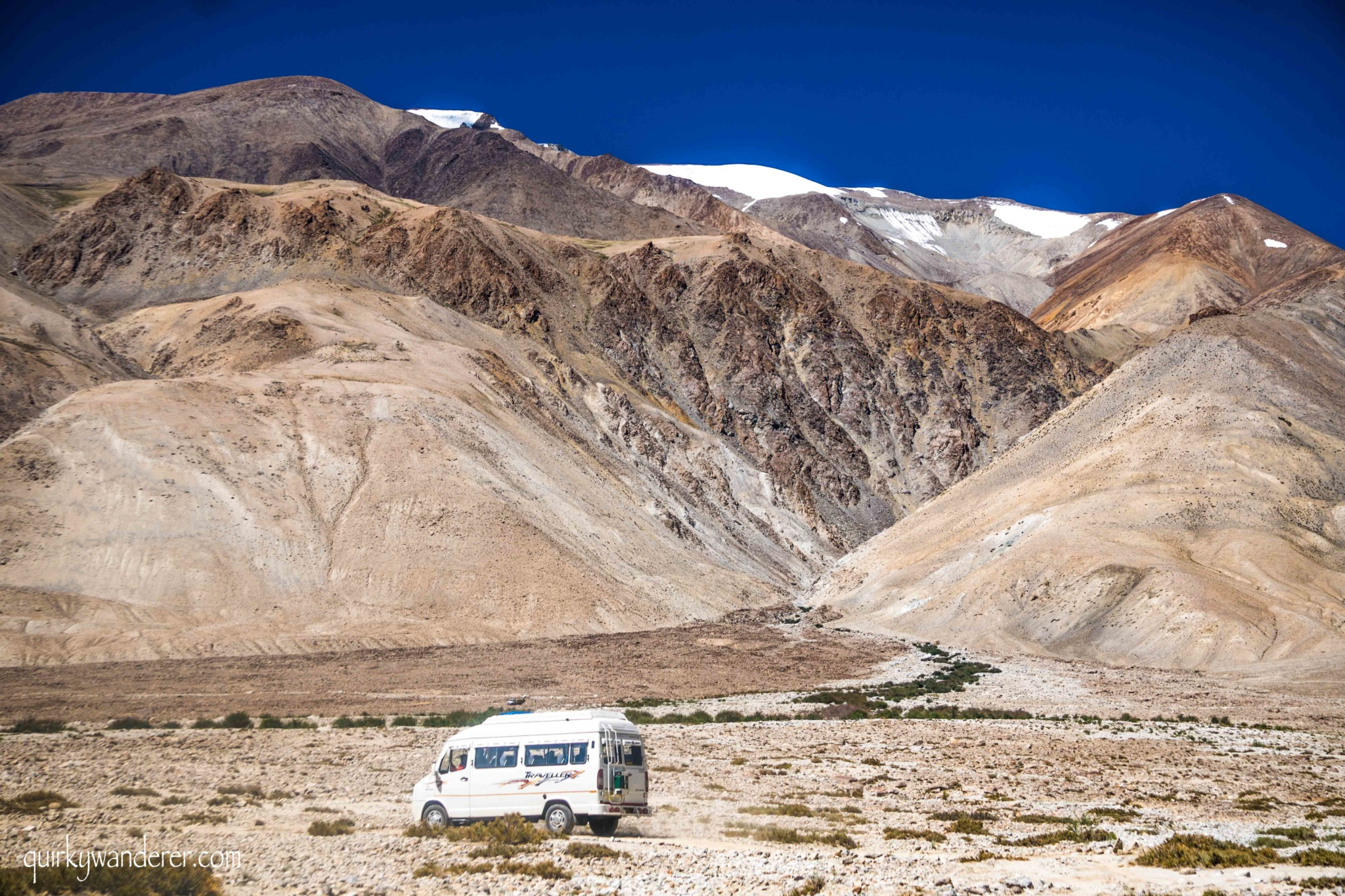 How to reach Hanle from Pangong