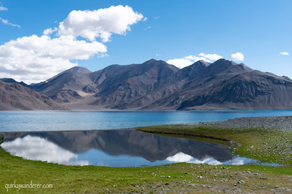 How to reach Pangong lake in Ladakh