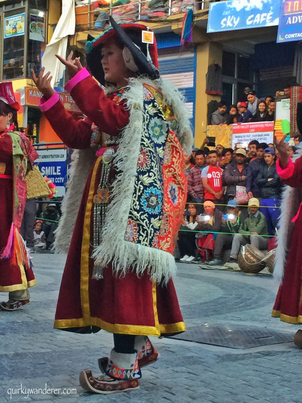 Cultural dances of Leh
