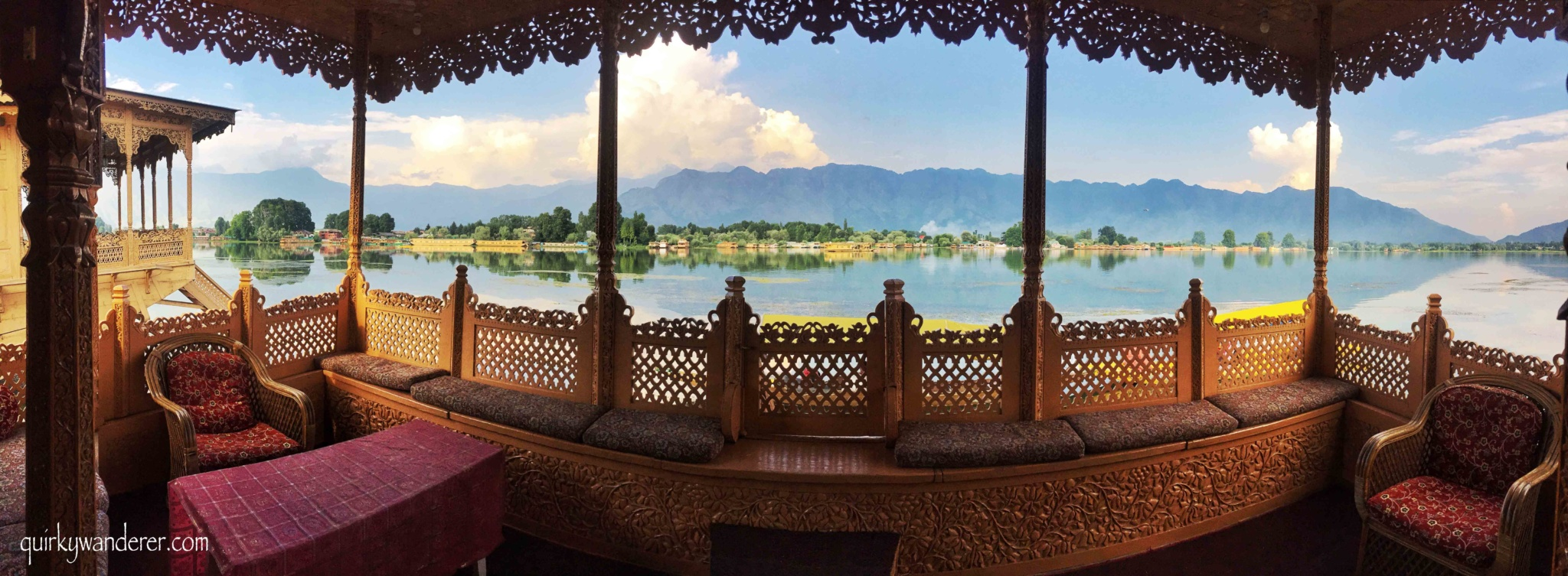Houseboats in Nigeen lake Srinagar