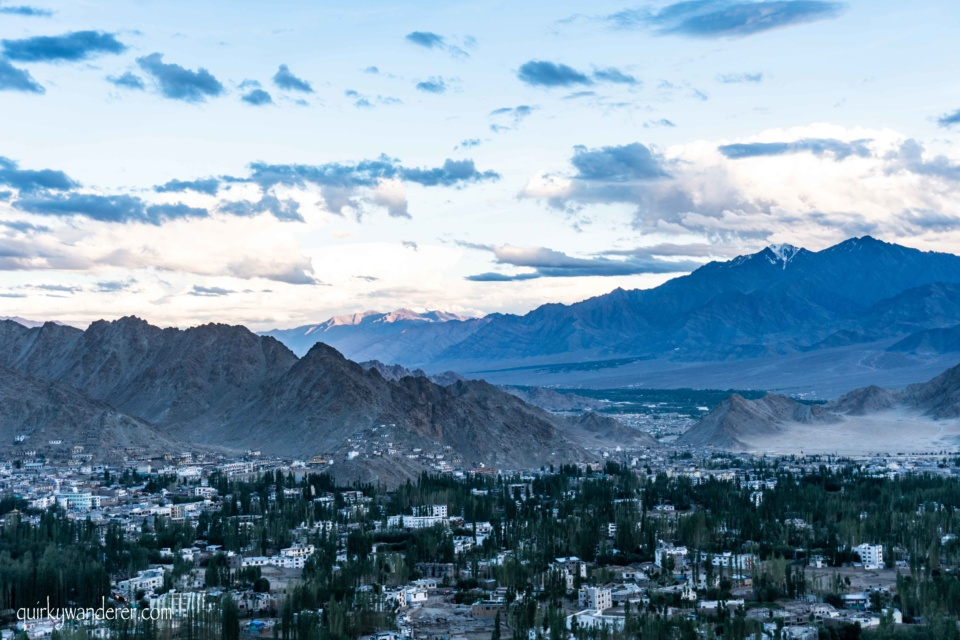 sunset points in Leh