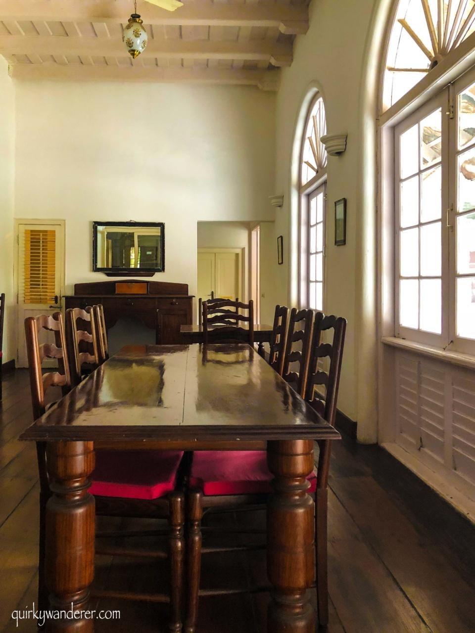 Colonial houses in Kochi