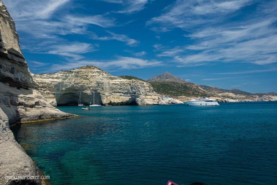 When to visit Milos island Greece