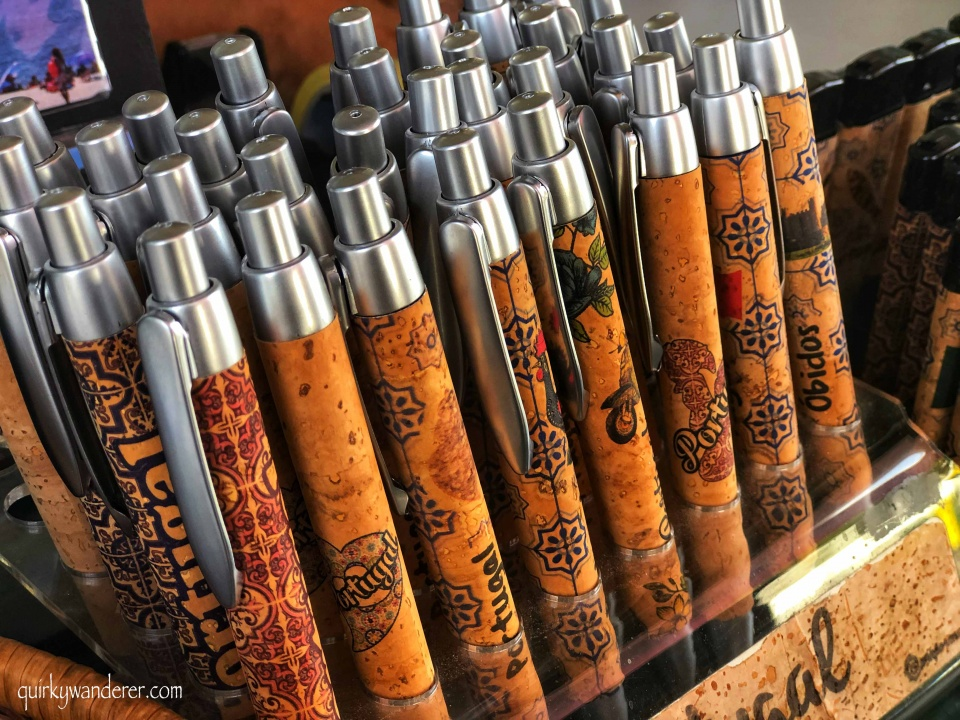 Cork products to buy in Portugal