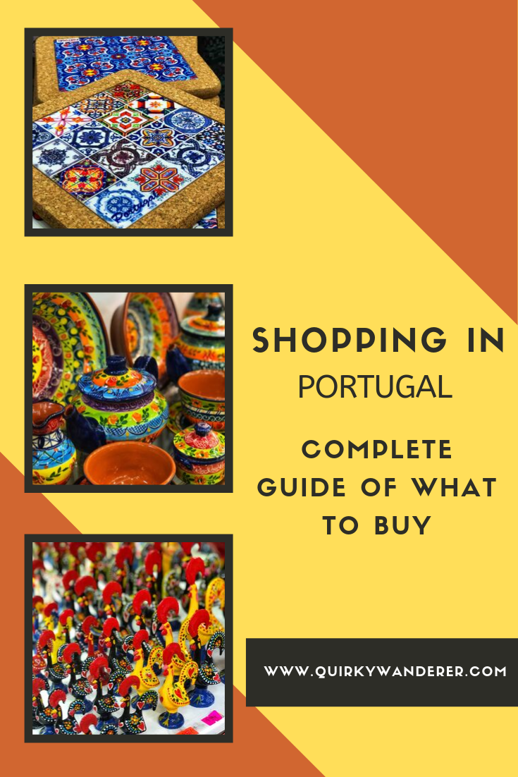 shopping in portugal