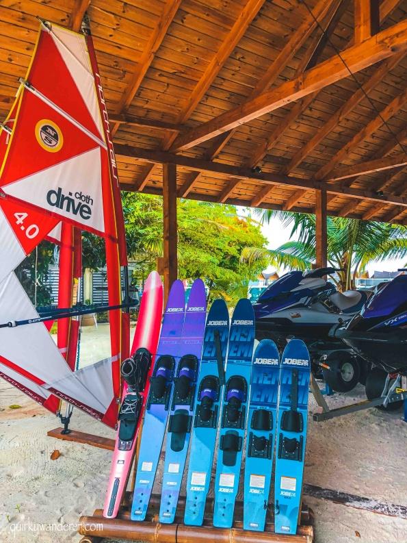 Recreational activities in Mövenpick Maldives