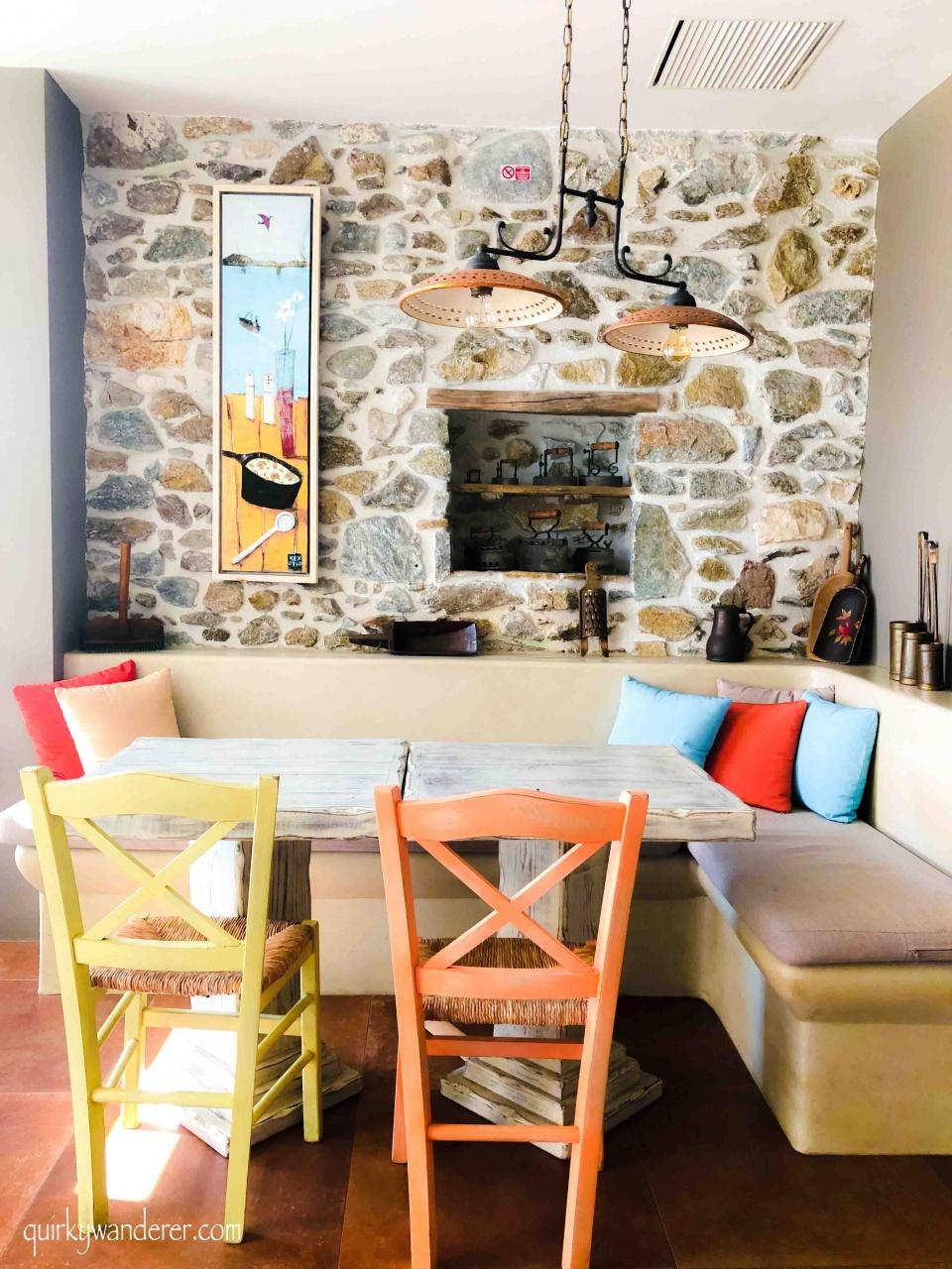 vegetarian food in Naxos