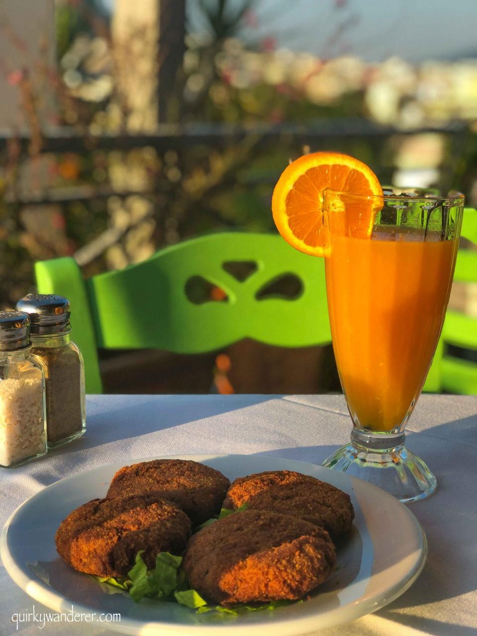 vegetarian food in greece