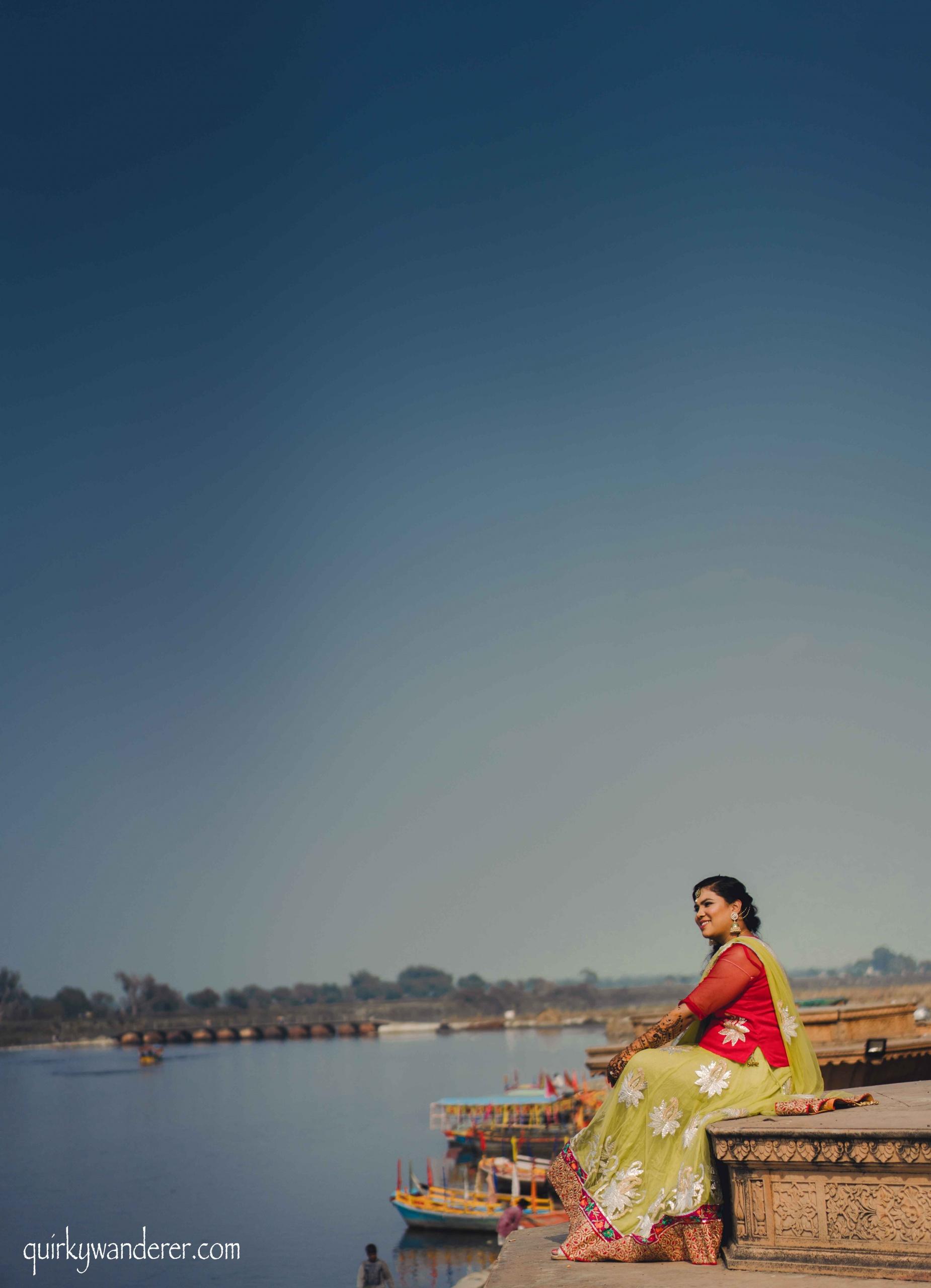 Pre-wedding shoot in Vrindavan