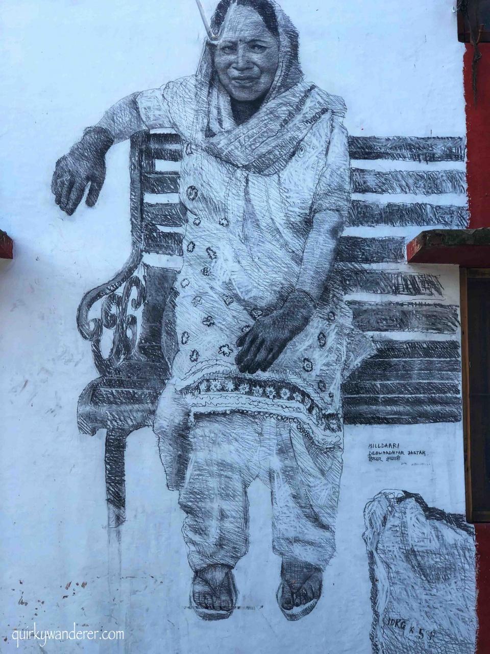 Hilldaari movement Nestle India Deewaron Pe Dastak Murals