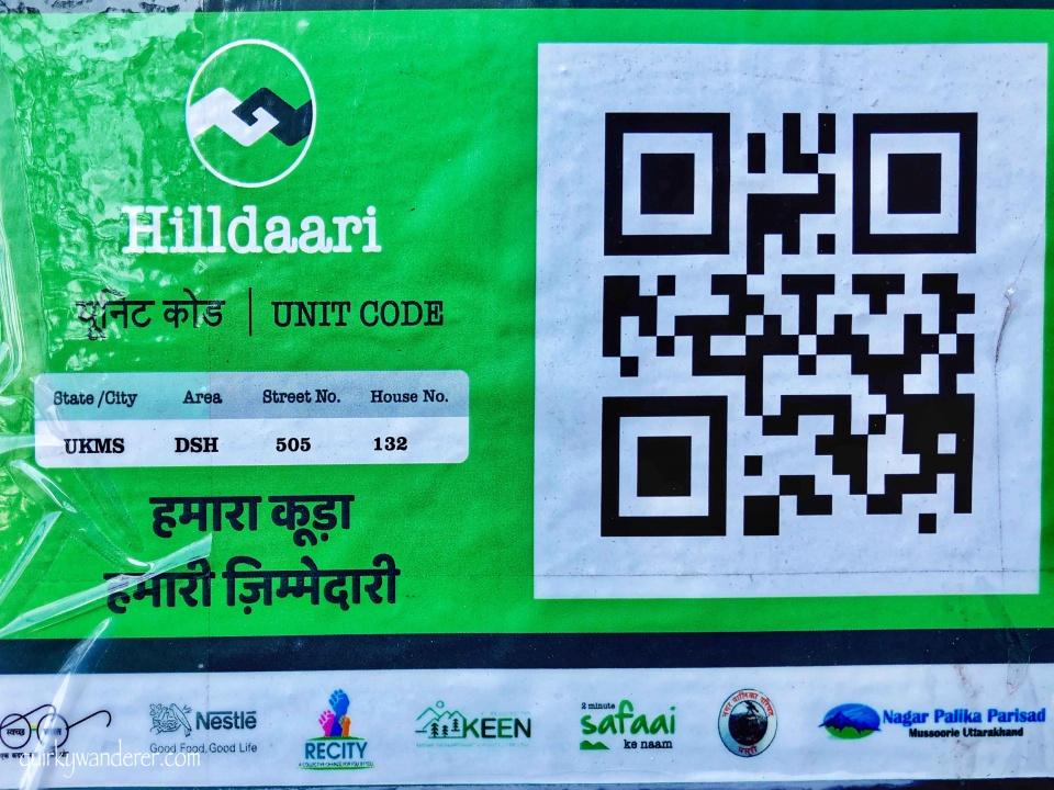 QR code Recity Hilldaari